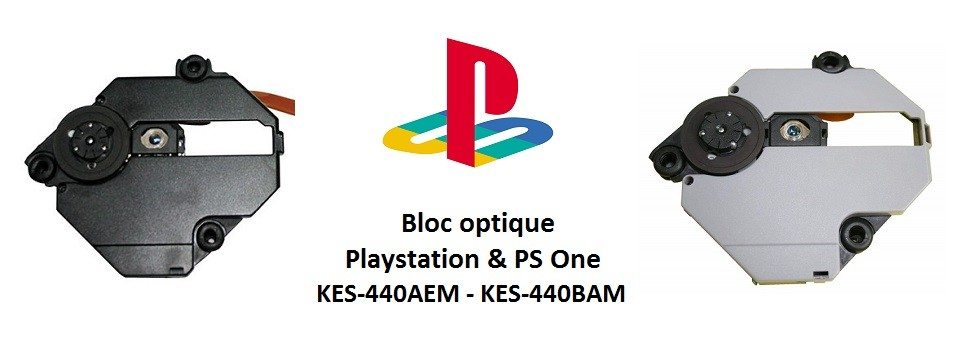 Bloc Optique Playstation et PS One