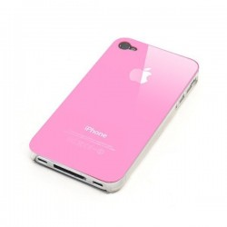 Vitre Arriere iPhone 4 Rose