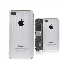 Vitre Arriere iPhone 4 Aluminium Brossé