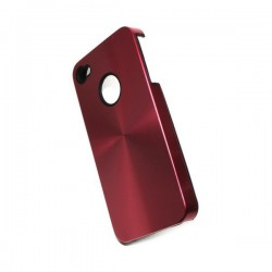 Coque Alu Rouge iPhone 4 4s