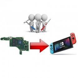 Réparation Carte Mère Nintendo Switch