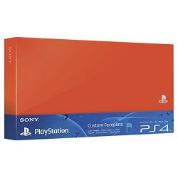 Faceplate Neon Orange PS4