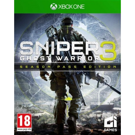 Sniper Ghost Warriors Season Pass Edition 3 Xbox One
