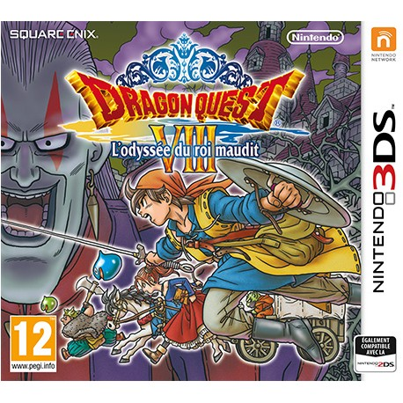 Dragon Quest VIII L'odyssee du roi maudit 3DS