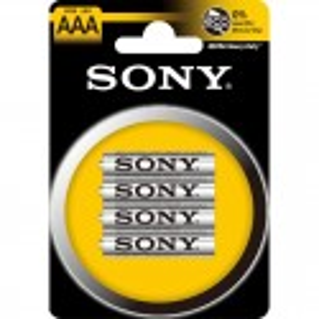 4 Piles LR03 AAA Sony