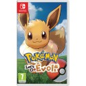 Pokémon Let's Go Evoli Switch