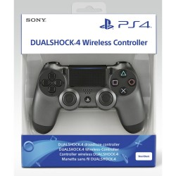 Manette DualShock 4 v2 Steel Black