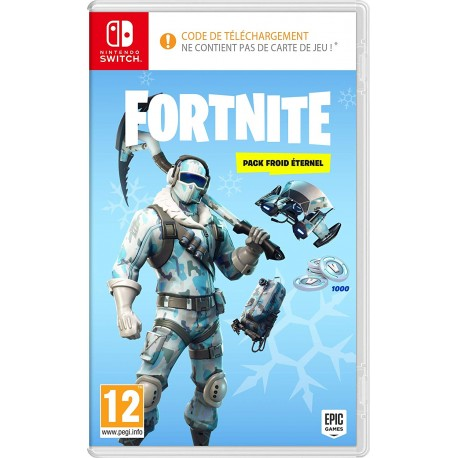 Fortnite Pack Froid Eternel Switch