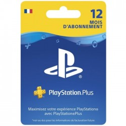 Abonnement Playstation Plus 12 Mois