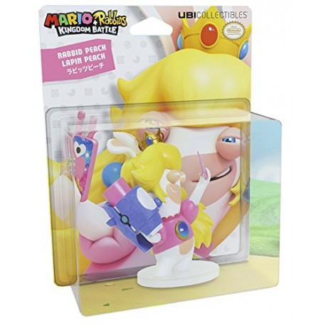 Figurine Mario + Lapins Cretins Kingdom Battle - Peach