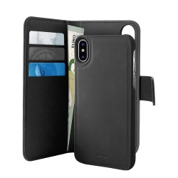 Etui Puro Detachable 2 en 1 iPhone X & XS