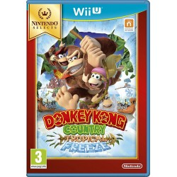 Donkey Kong Country Tropical Freeze Selects Wii U