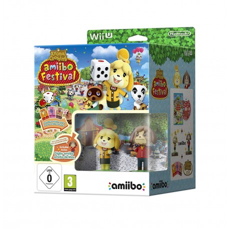 Animal Crossing amiibo Festival + 2 Figurines + 3 cartes WiiU