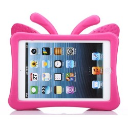 Protection Papillon Rose pour iPad Mini