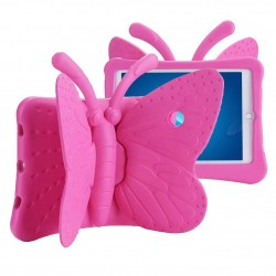 Protection Antichoc Papillon Rose iPad Air 1 & 2