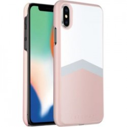 Coque Adeqwat Rose iPhone X & XS