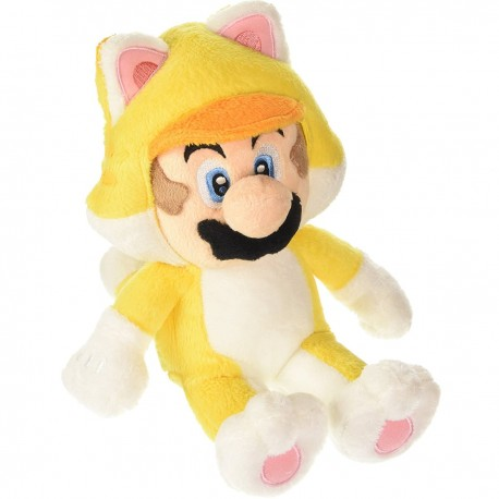 Peluche Mario Chat 3D World