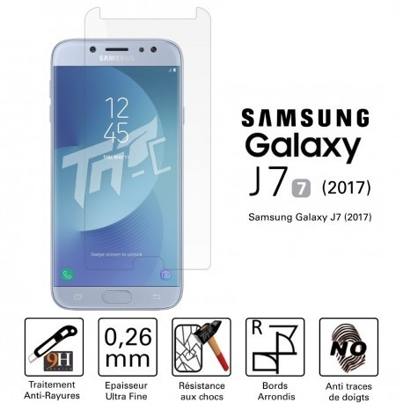 Verre Trempé Samsung Galaxy J7 2017