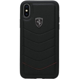 Coque Ferrari Cuir iPhone X & XS