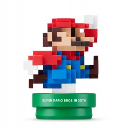 Amiibo Mario Maker Bleu