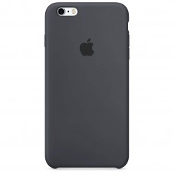 Coque Silicone iPhone 6S Charcoal Grey