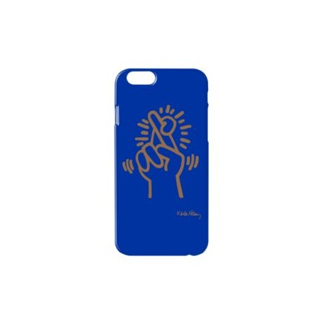 Coque Keith Haring Bleue iPhone 6 & 6S