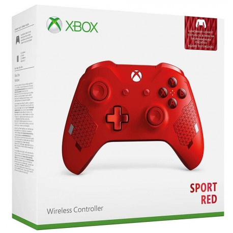 Manette Xbox One Red Sport