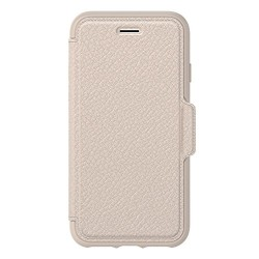 Etui Folio Otterbox Cuir Beige iPhone 6, 7 & 8