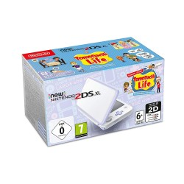 Console New Nintendo 2DS XL Blanc Lavande + Tomodachi Life