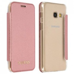 Etui Guess Rose & Transparent Galaxy A3 2017