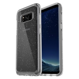 Coque Anti-Chocs Transparente Paillettes Samsung Galaxy S8+