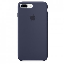 Coque Silicone Apple iPhone 7 Plus Bleu Marine