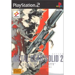 Metal Gear Solid 2 Sons of Liberty PS2 Occasion