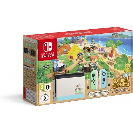 Console Nintendo Switch Édition Collector Animal Crossing