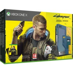 Console Xbox One X 1To Edition Collector Cyberpunk