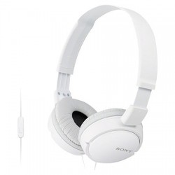 Casque Micro Sony MDR-ZX110AP Blanc