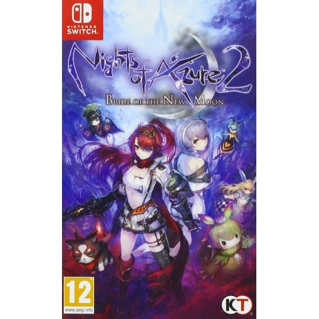 Nights of Azure 2 Bride of the New Moon Switch