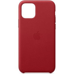 Coque Apple iPhone 11 Pro Cuir Rouge
