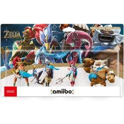 Amiibo Prodiges Zelda Breath of The Wild Urbosa Revali Mipha Daruk