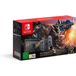 Console Nintendo Switch Edition Collector Monster Hunter Rise