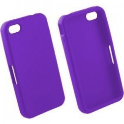 Coque Silicone Mauve - iPhone 4